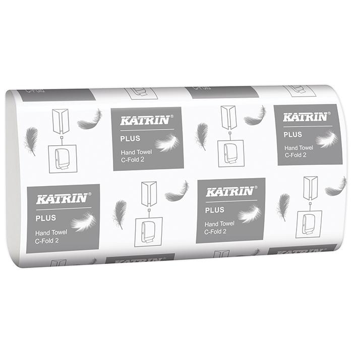 Serviettes pliées Katrin, Plus C-Fold 2