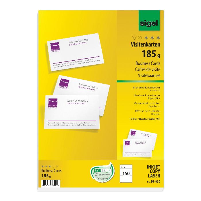 Sigel Business cards