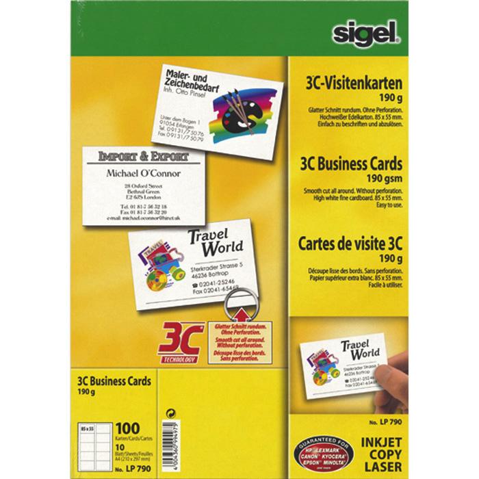 Sigel business cards online bestellen schoch vgtli sigel business cards reheart Image collections