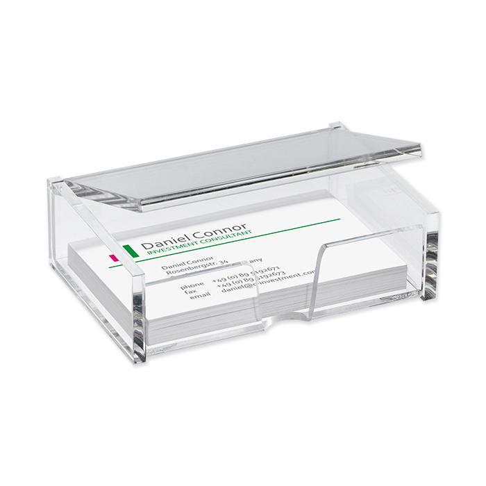 Sigel business card box