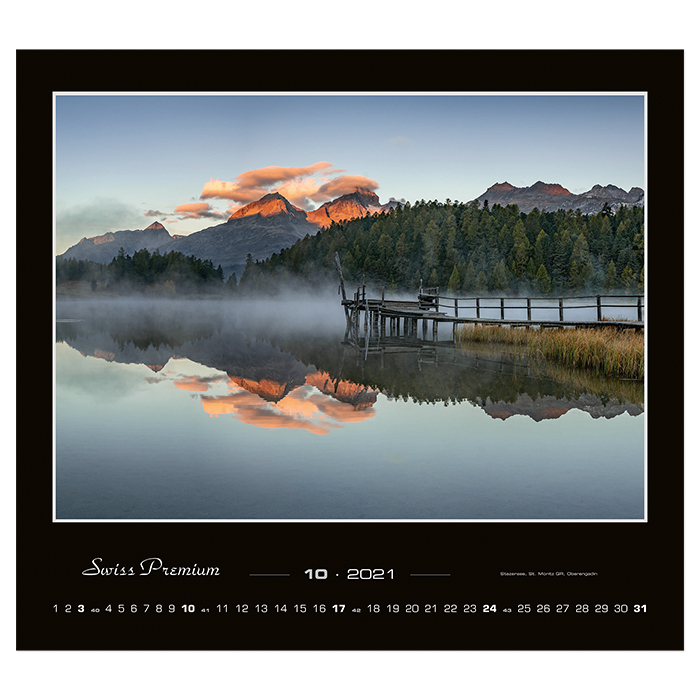 Simplex Bildkalender Swiss Premium