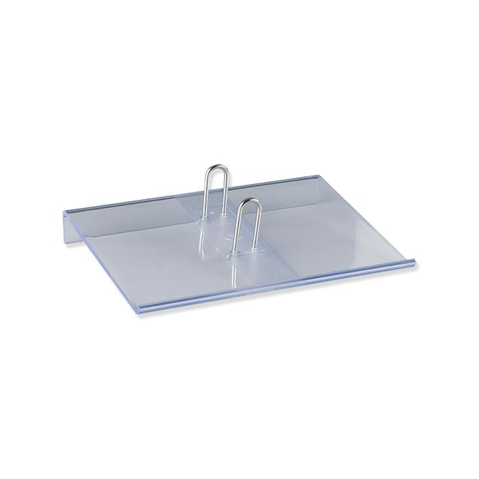 Simplex Kalendersockel tranparent, 12,5 x 17 cm