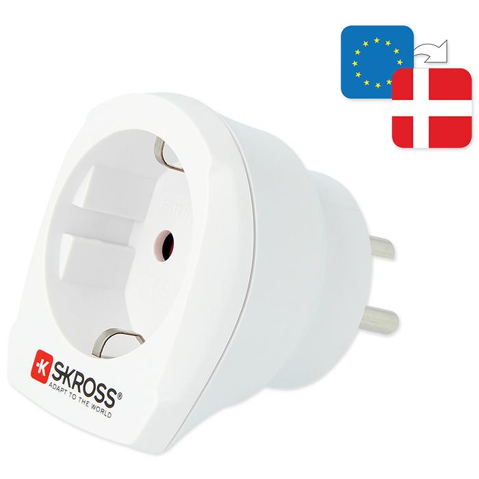 Skross Country Adapter Europe to Denmark
