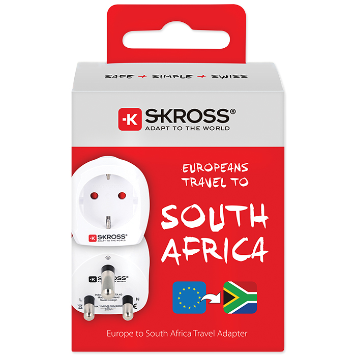 Skross Country Adapter Europe to South Africa