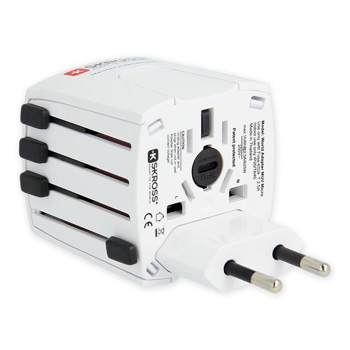Skross World Adapter MUV Micro