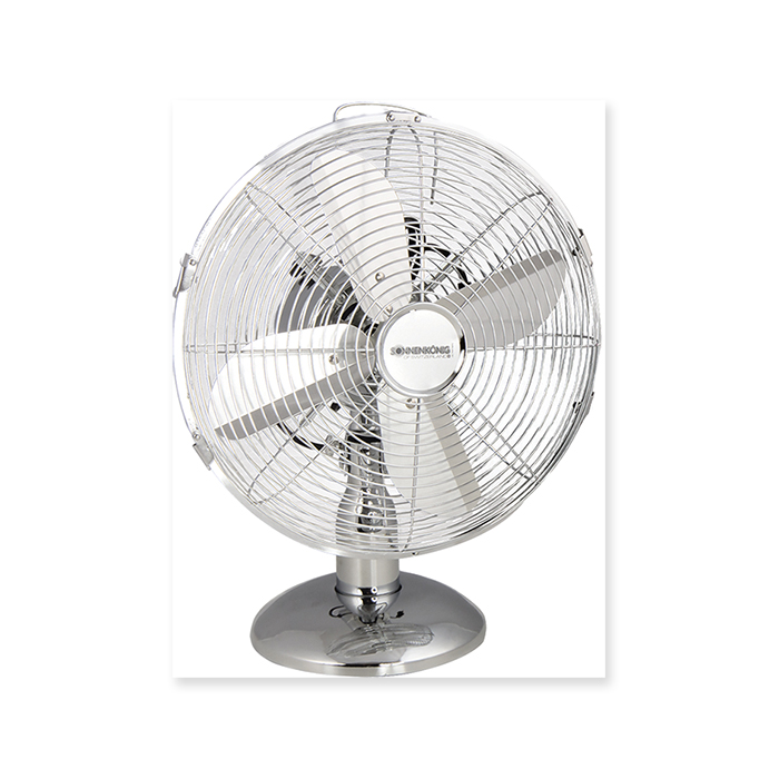 Sonnenkönig Table fan Chromium
