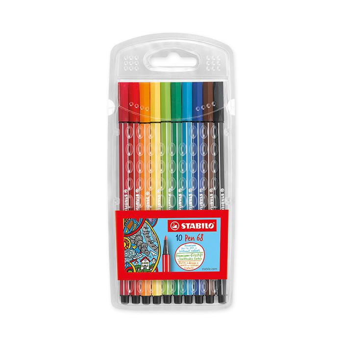 Stabilo Fibre pen 68 - Set