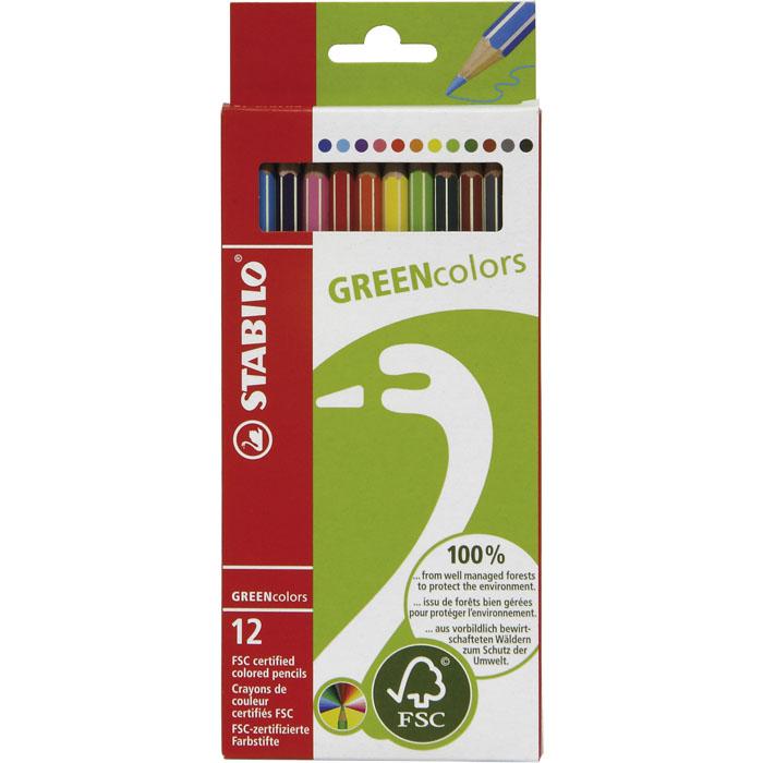 Stabilo Green Colors Farbstift
