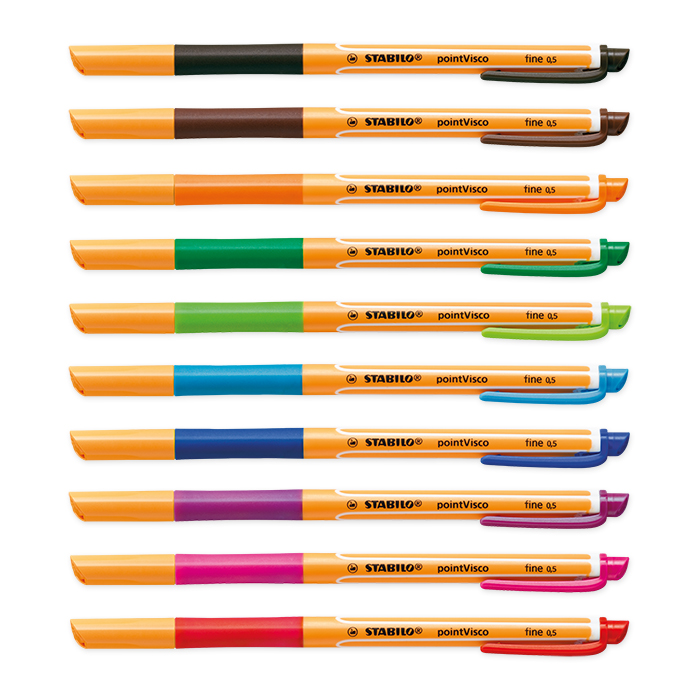 Stabilo Visco Gel rollerball pen