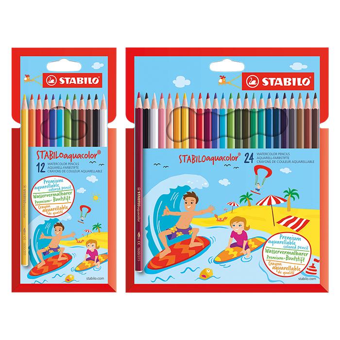 Stabilo aquacolor Kids Design Farbstift