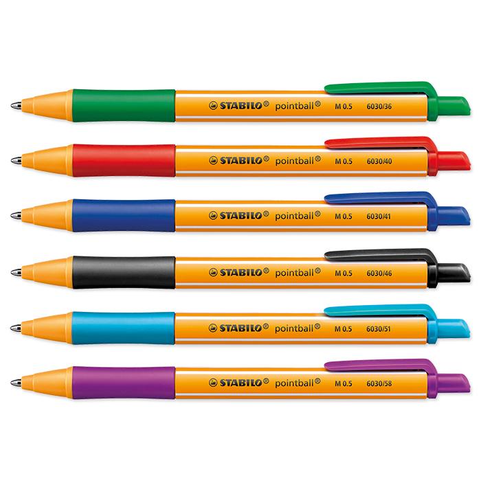 Stabilo pointball pen