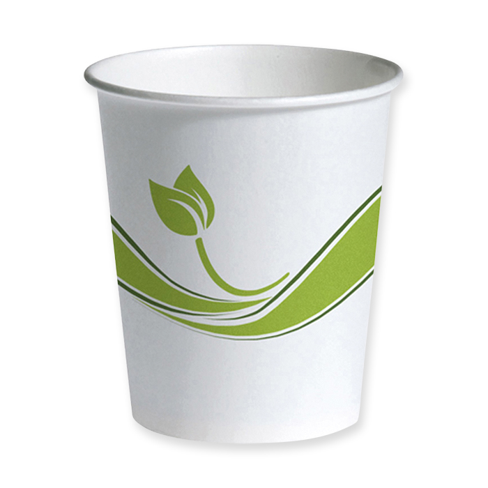 Staples Becher Biodegradable für Heissgetränke