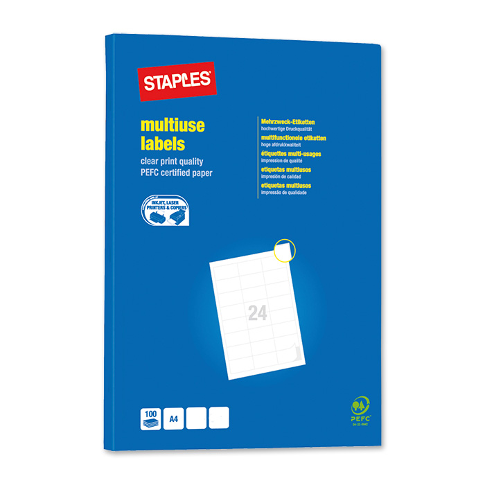 Staples Labels Multi-Purpose