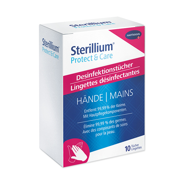 Sterillium Protect & Care Disinfecting Wipes