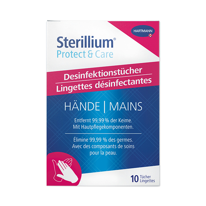 Sterillium Protect & Care Disinfecting Wipes