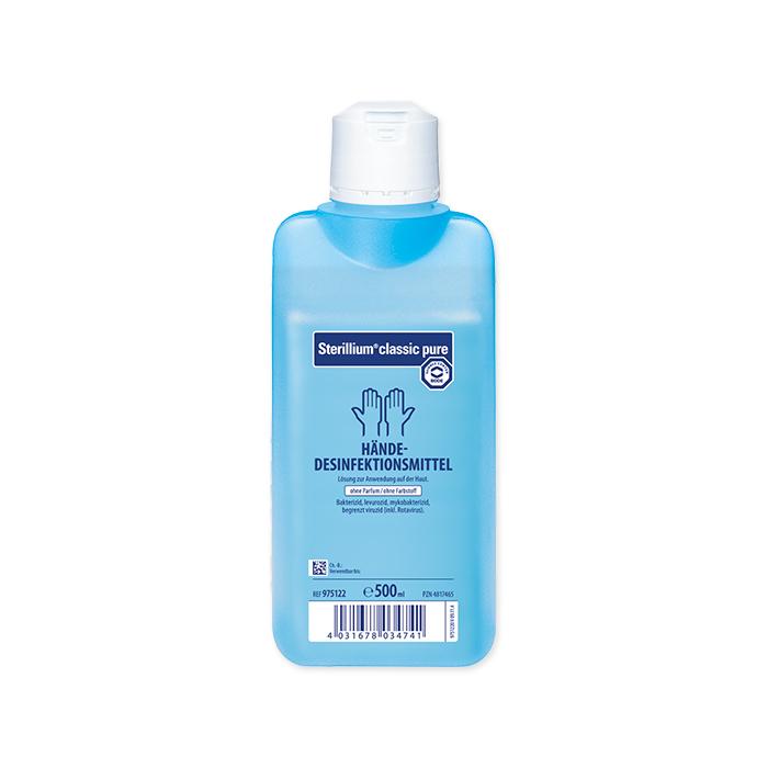 Sterillium classic pure hand disinfectant