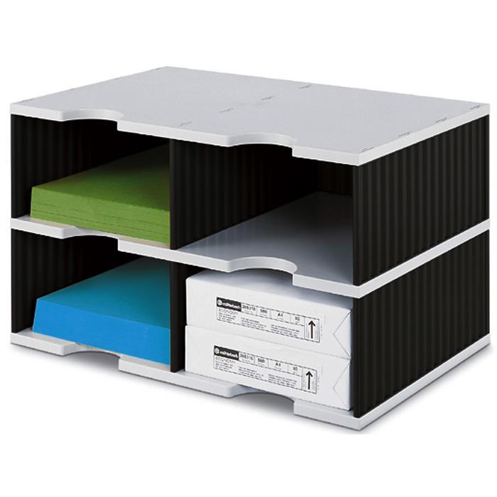 Bürobedarf ablagesysteme  Styro Wandfach Styrodisplay - Styro Ablagesystem Styrodoc Duo ...