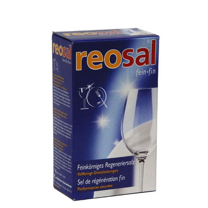 Reosal Dishwasher regenerating salt 1 kg