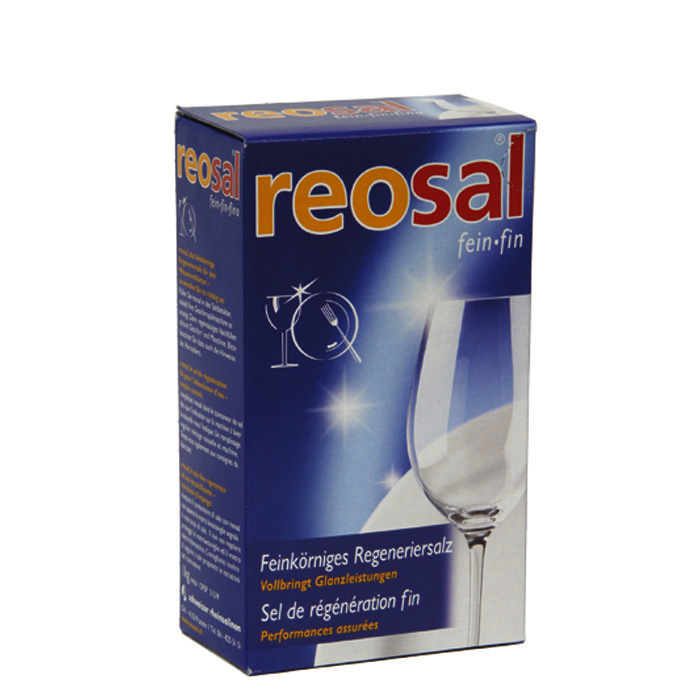Reosal Dishwasher regenerating salt 1 kg
