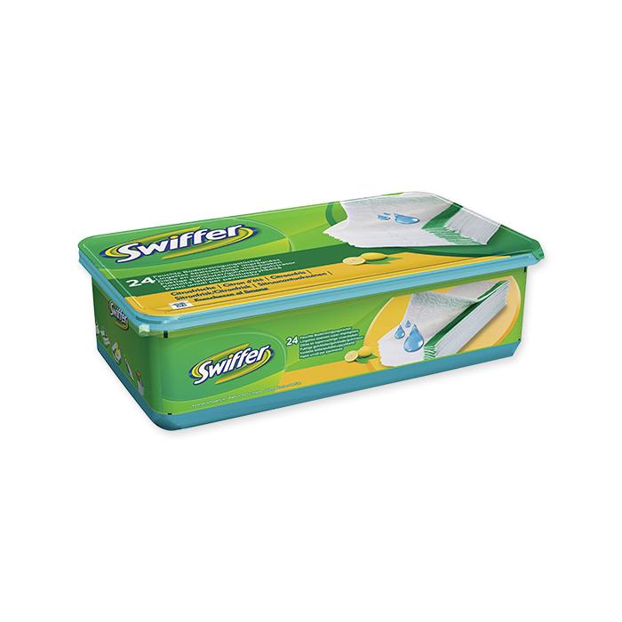 Swiffer Système de nettoyage Chiffonnette chiffon mouillé