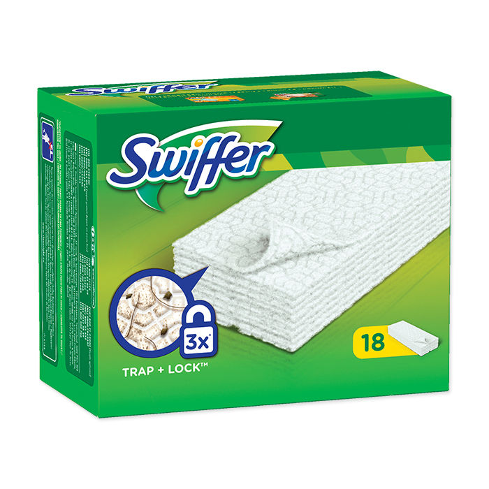 Swiffer Système de nettoyage Chiffonnette chiffon sec