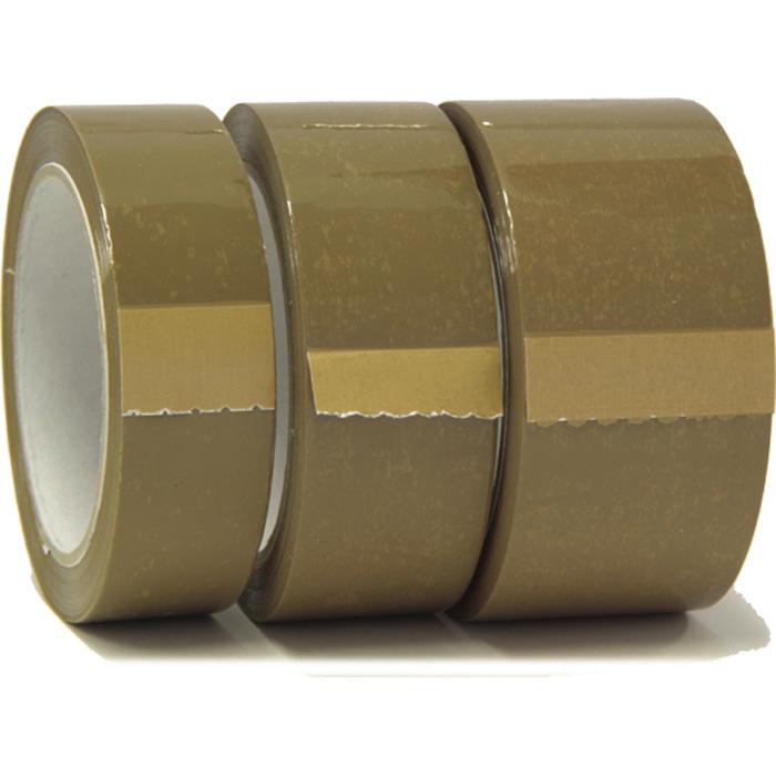 Permafix Verpackungsband braun, 30 mm x 66 m