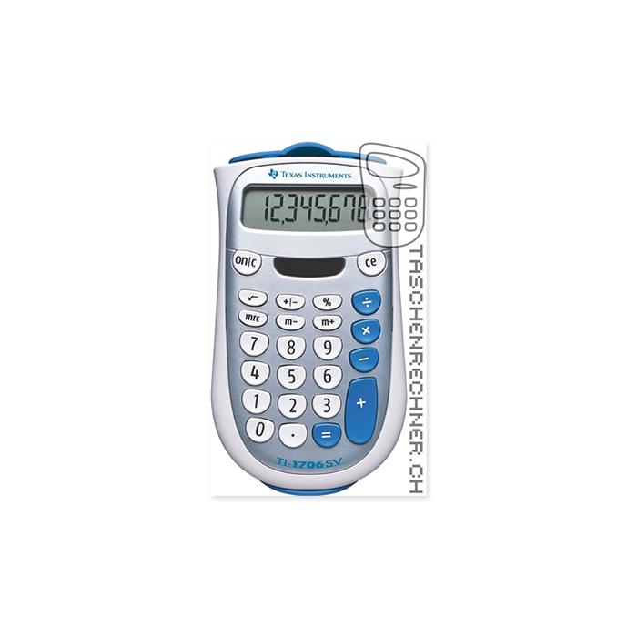 Texas Instruments Pocket calculator TI-1706 SV