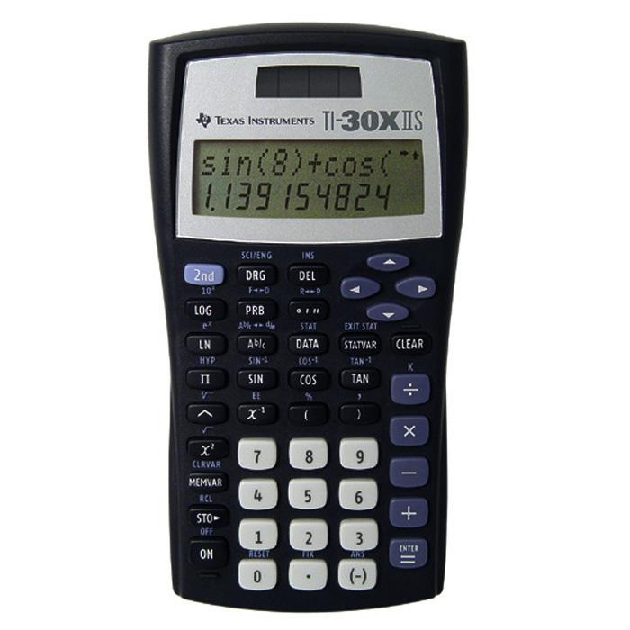Texas Instruments School calculator TI-30X IIB