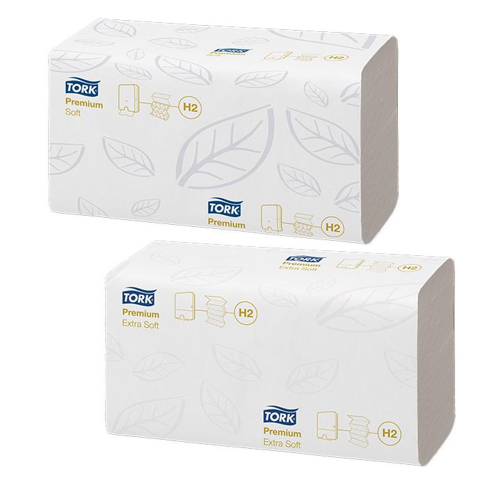 Tork Papier essuie-mains Premium Interfold H2