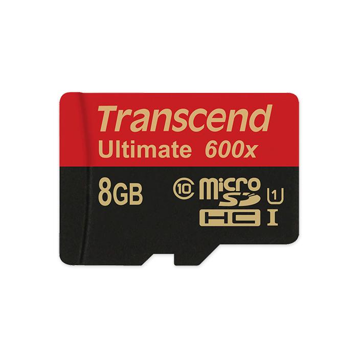 Transcend micro SDHC Ultimate 600x