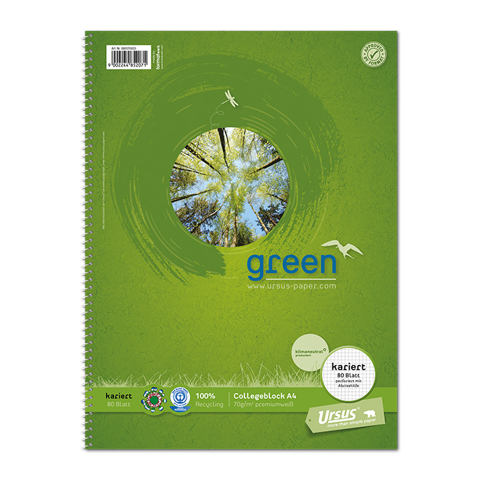 Ursus Green College Pad