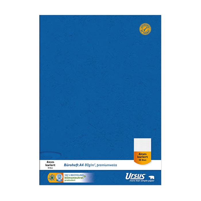 Ursus Green Recycling office notebook