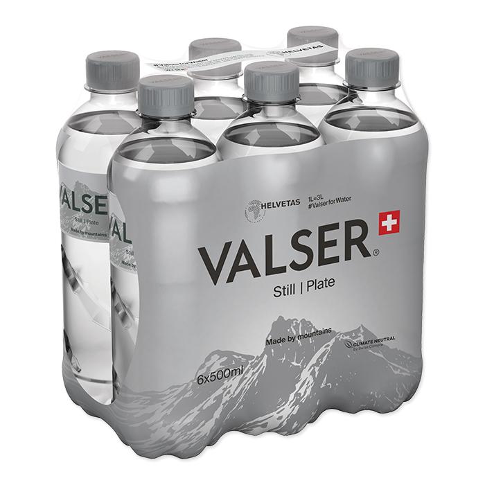 Valser Eau minérale Still / Plate