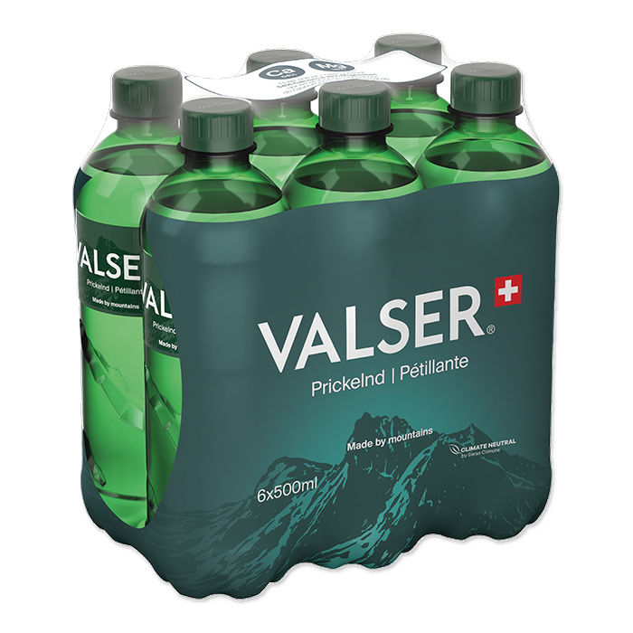 Valser Mineral water Prickelnd / Pétillant