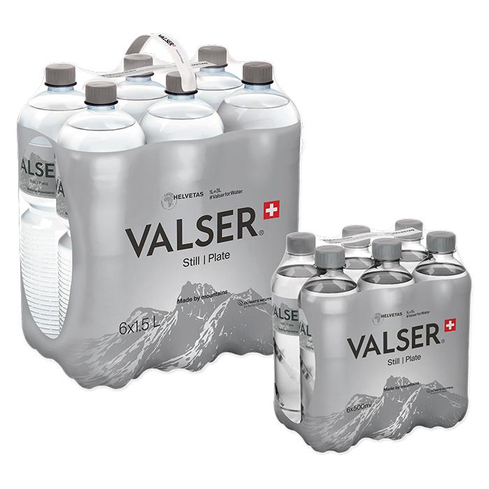 Valser Mineral water Still / Plate