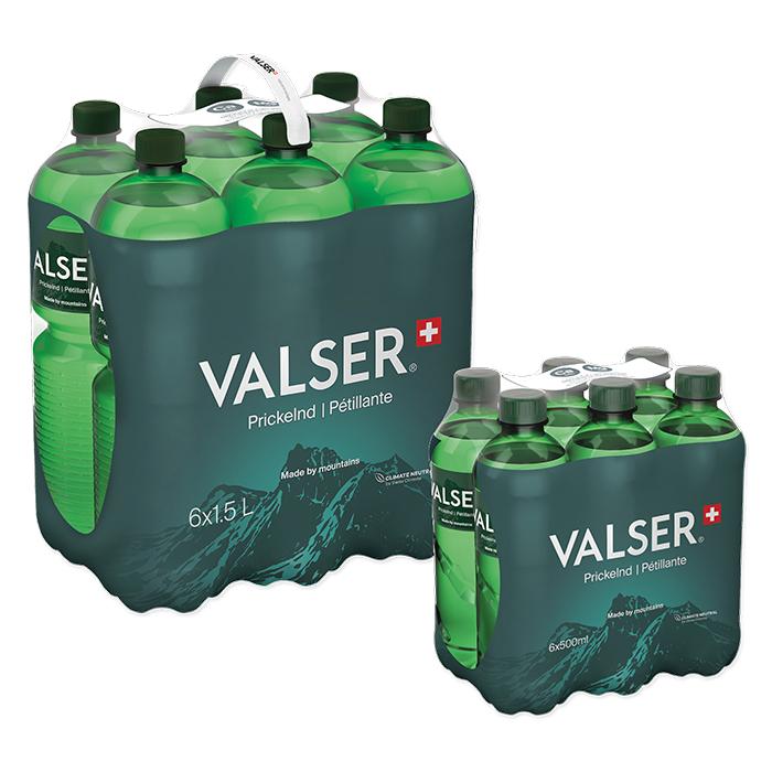 Valser Mineralwasser Prickelnd / Pétillant