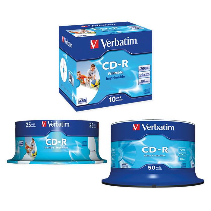 Verbatim CD-R Fullprint