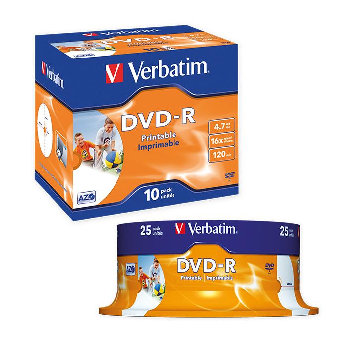 Verbatim DVD-R Fullprint