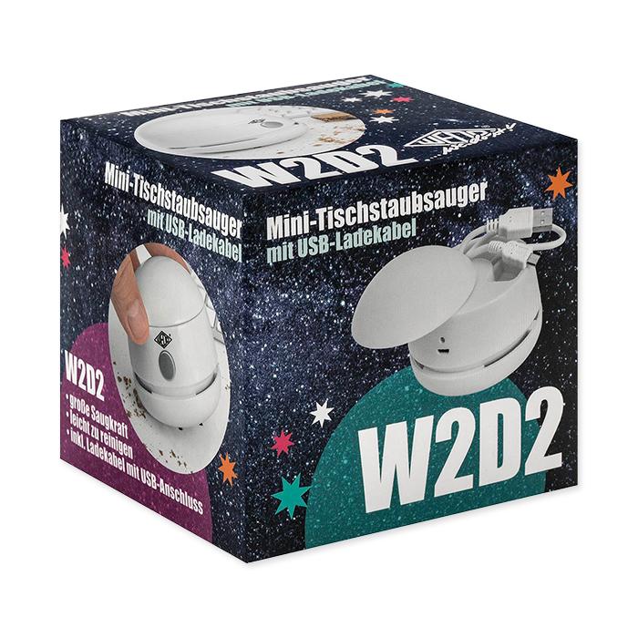 Wedo Mini aspirateur de table W2D2