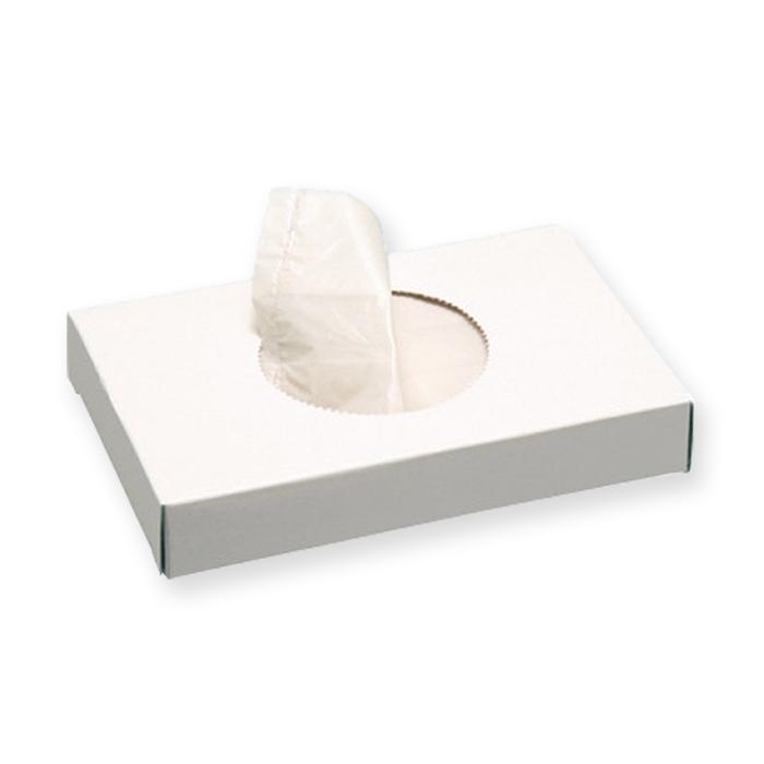 Sachets hygiéniques Le Prestige blanc, 8,8 x 12,8 cm