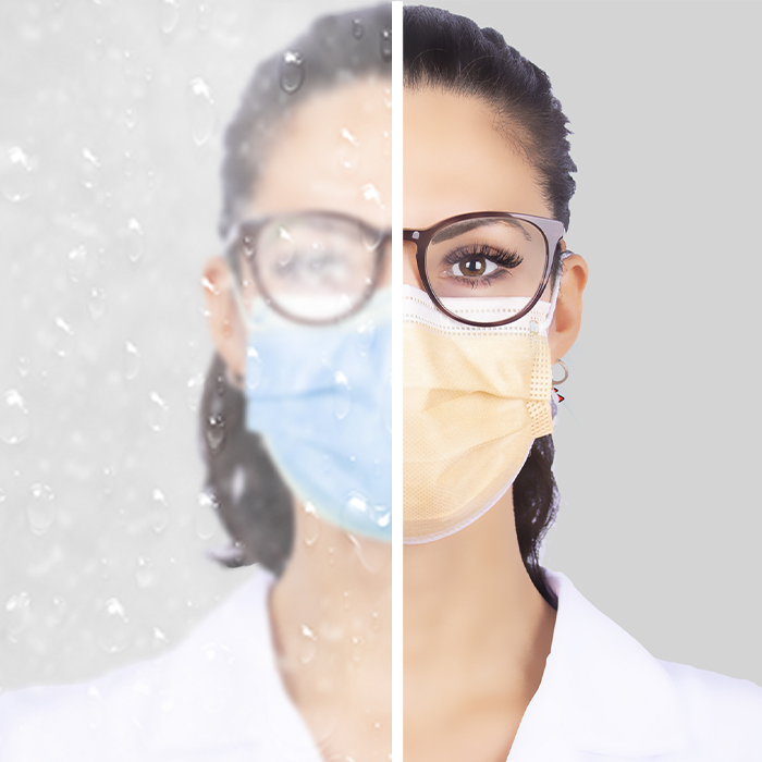 medical face mask Typ IIR with anti-fog