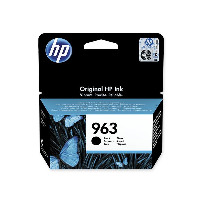 HP Inkjet cartridge No. 963 black, 1'000 pages