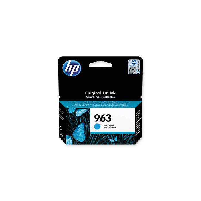 HP Inkjet cartridge No. 963 cyan, 700 pages
