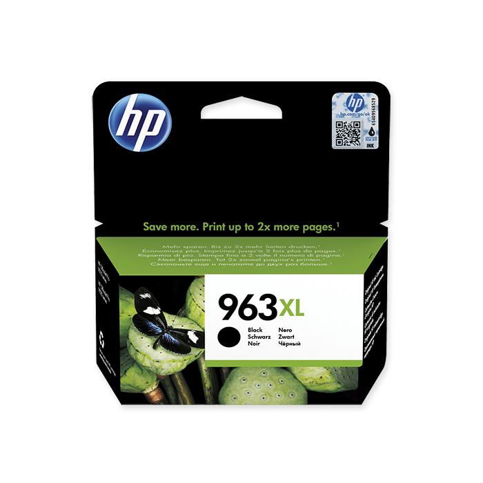 HP Inkjet cartridge No. 963 black, 2'000 pages