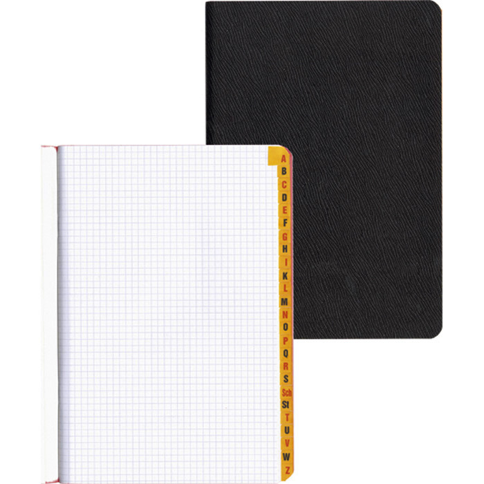 office focus Oilcloth book with index