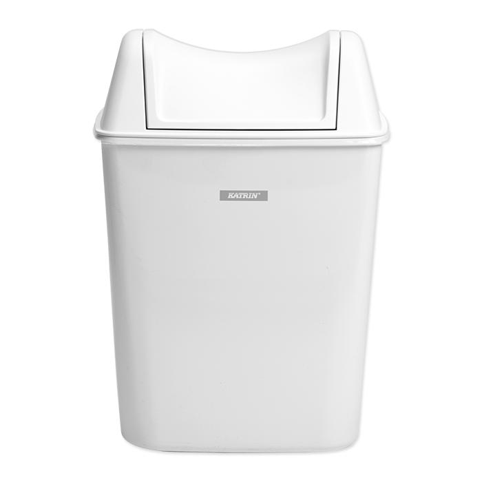 Contenitore rifiuti igienici per signore Katrin bianco