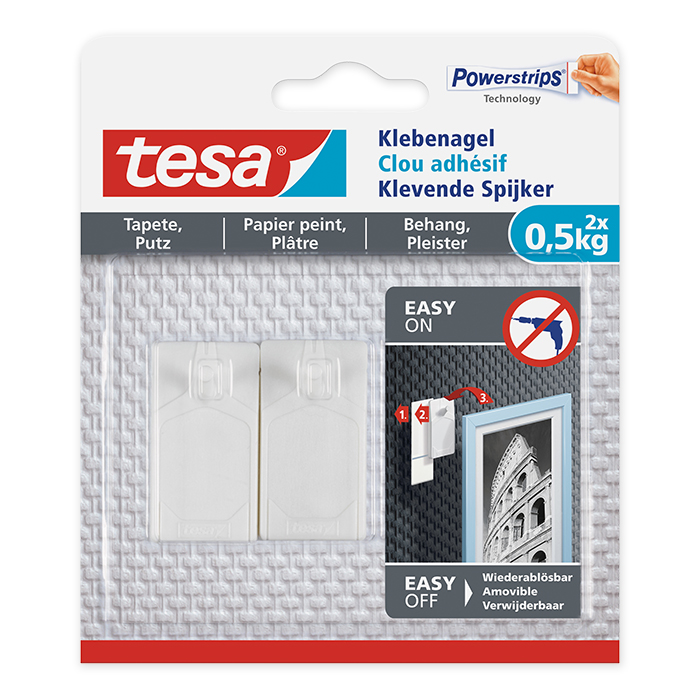 tesa Adhesive Hook wallpaper & plaster