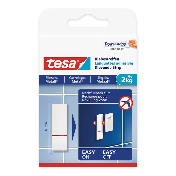 tesa Adhesive Strip tiles & metal 2 kg