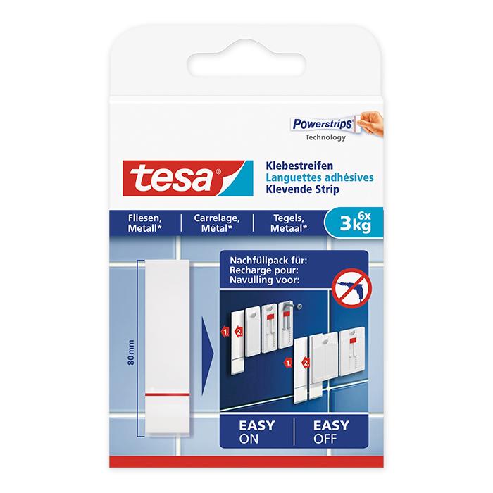 tesa Adhesive Strip tiles & metal 3 kg