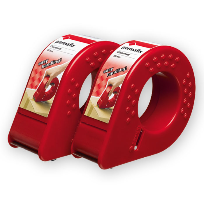 Permafix Packaging tape dispenser for rolls 38 mm x 66 m